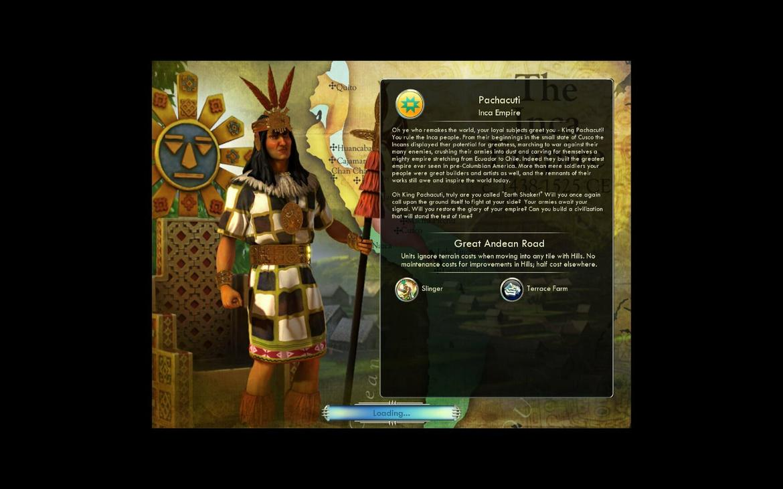 Sid Meier's Civilization V - Civ and Scenario Double Pack: Spain and Inca [Mac]
