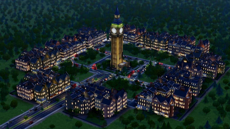 SimCity DLC British City Set