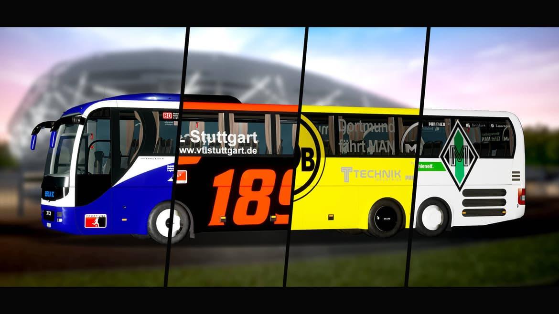 Fernbus Simulator - Football Team Bus
