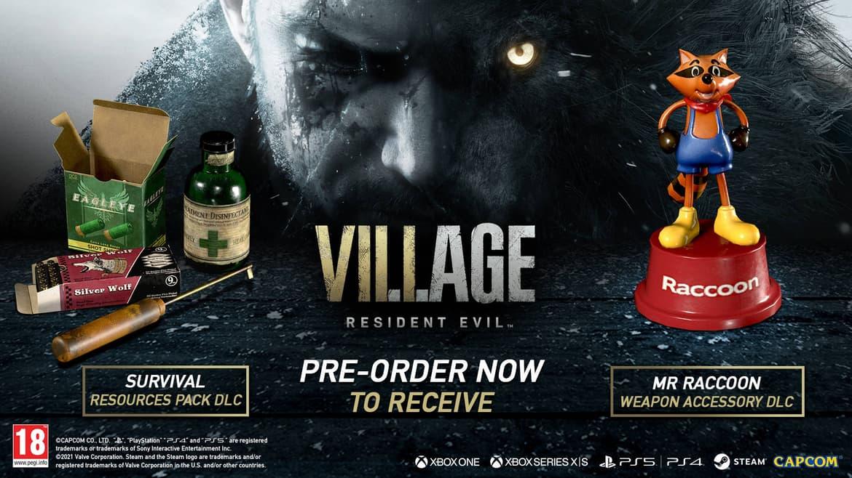 Resident Evil Village Pre-order