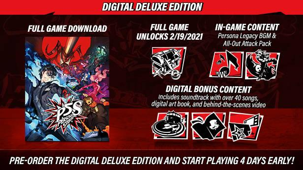 Persona 5 Strikers - Digital Deluxe Edition