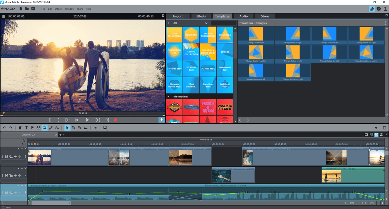 MAGIX Movie Edit Pro 2021 Plus