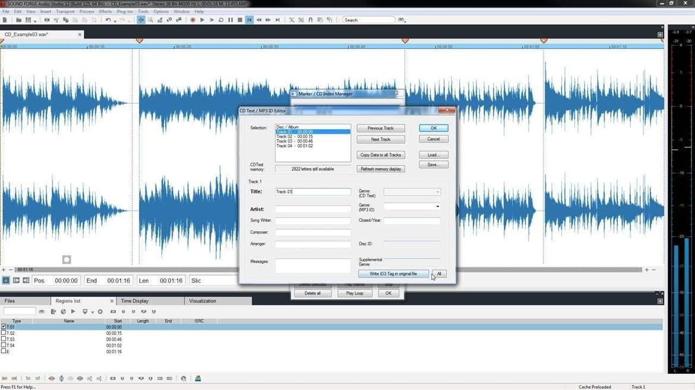 Bild von Sound Forge Audio Studio 12