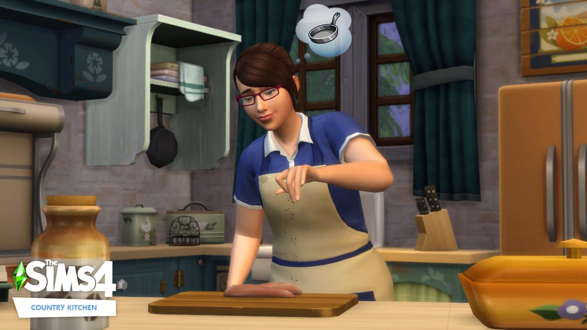 The Sims™ 4 Country Kitchen Kit