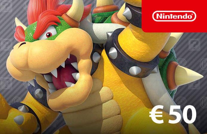 Afbeeldingen van Nintendo eShop Card 50 EUR NL