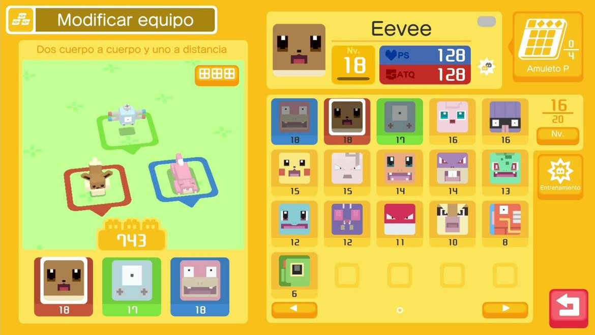 Imagen de Pokemon Quest Stay Strong Stone EU Nintendo Switch