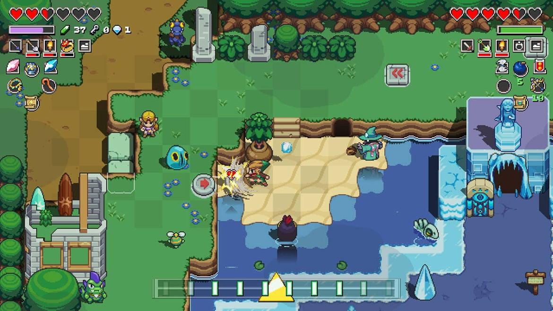 Imagen de Cadence of Hyrule – Crypt of the NecroDancer Featuring The Legend of Zelda Season Pass EU Nintendo Switch