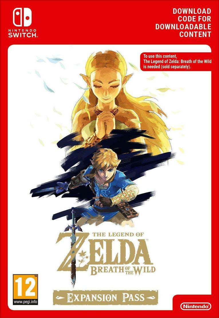 Picture of Zelda Breath of the Wild Expansion Pass EU Nintendo Switch
