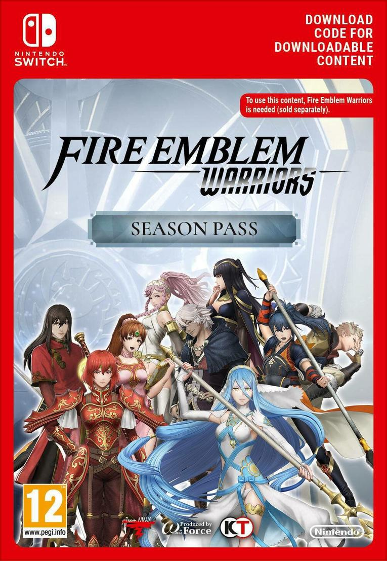 Fire Emblem Warriors: Season Pass EU Nintendo Switch resmi