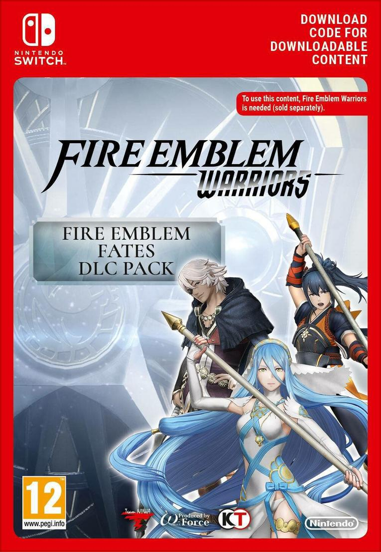 Fire Emblem Warriors: Fates DLC Pack EU Nintendo Switch resmi