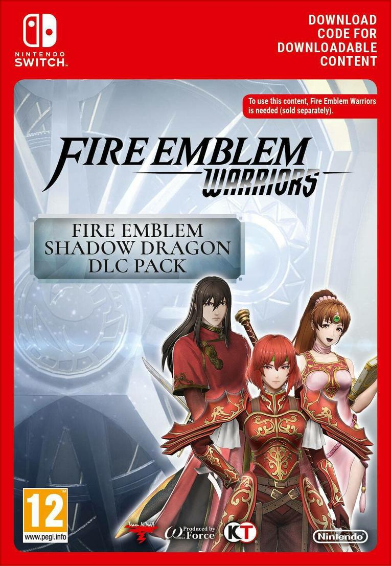 Fire Emblem Warriors: Shadow Dragon DLC Pack EU Nintendo Switch resmi