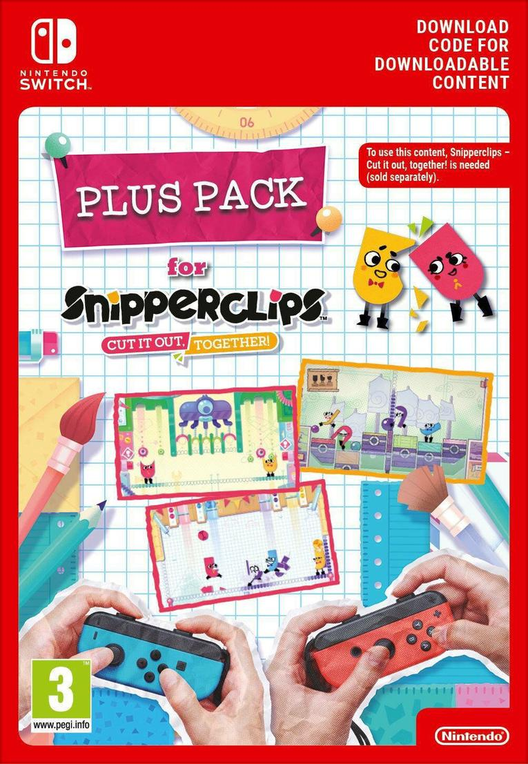 Picture of Snipperclips: Cut it out together Plus Pack EU Nintendo Switch