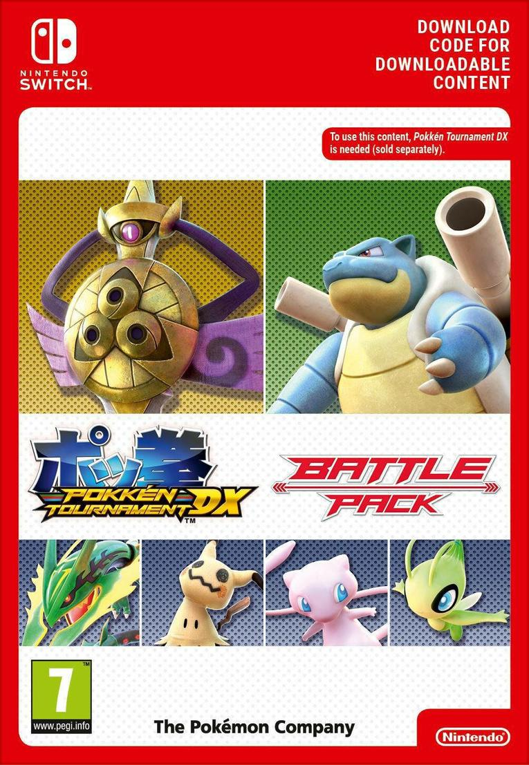 Picture of Pokkén Tournament DX Battle Pack EU Nintendo Switch
