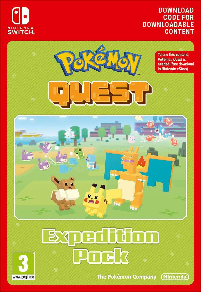 Pokemon Quest Expedition Pack EU Nintendo Switch resmi