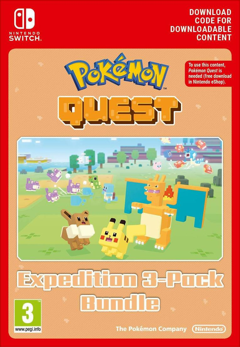 Pokemon Quest Triple Expedition Pack EU Nintendo Switch resmi