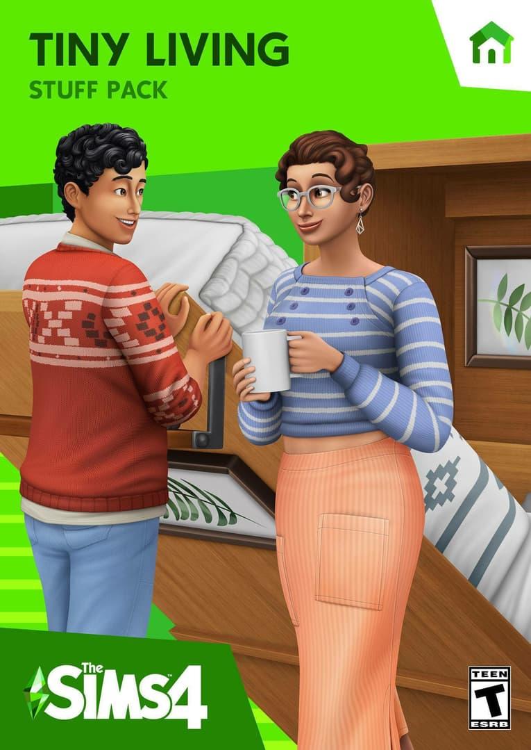 The Sims 4 Tiny Living Stuff Pack resmi