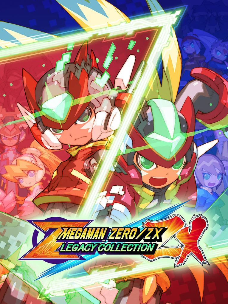 Mega Man Zero/ZX Legacy Collection (ROW)