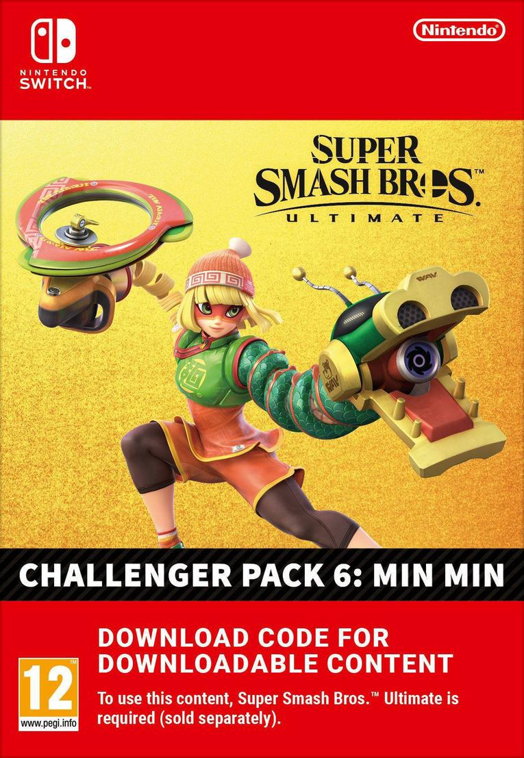 Picture of Super Smash Bros Ultimate:  Min Min Challenger Pack EU Nintendo Switch