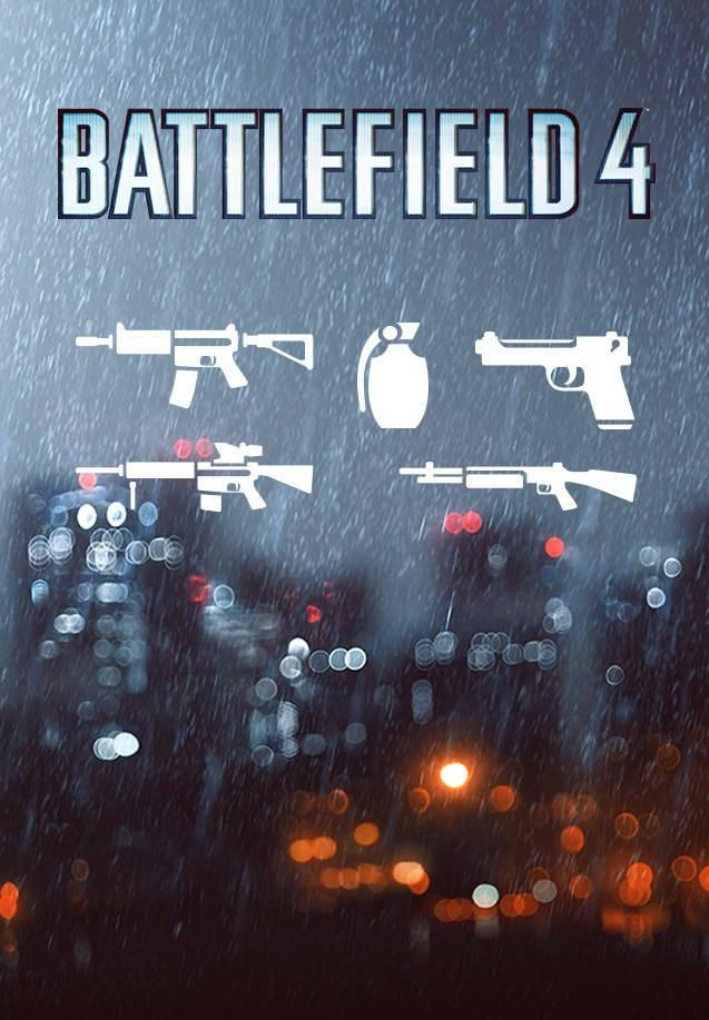 Picture of Battlefield 4: Weapon Shortcut Bundle