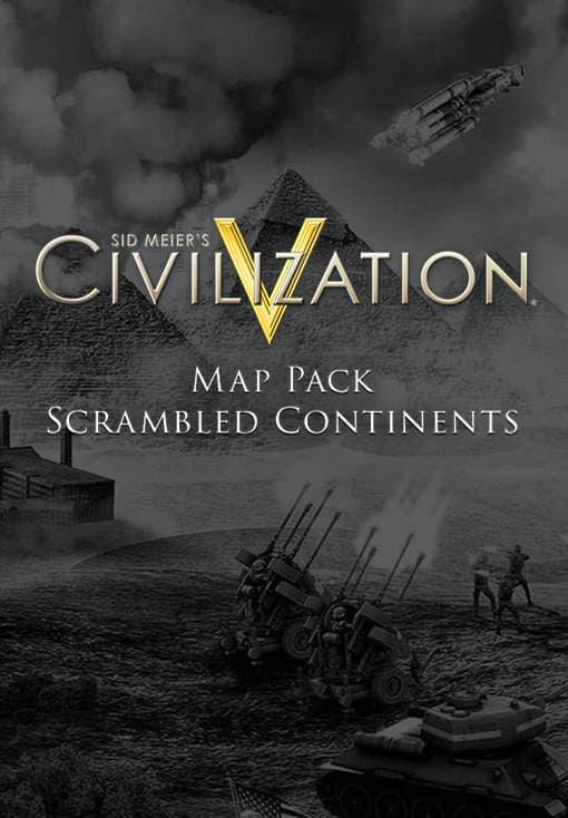 Sid Meier's Civilization V - Scrambled Continents Map Pack [Mac]