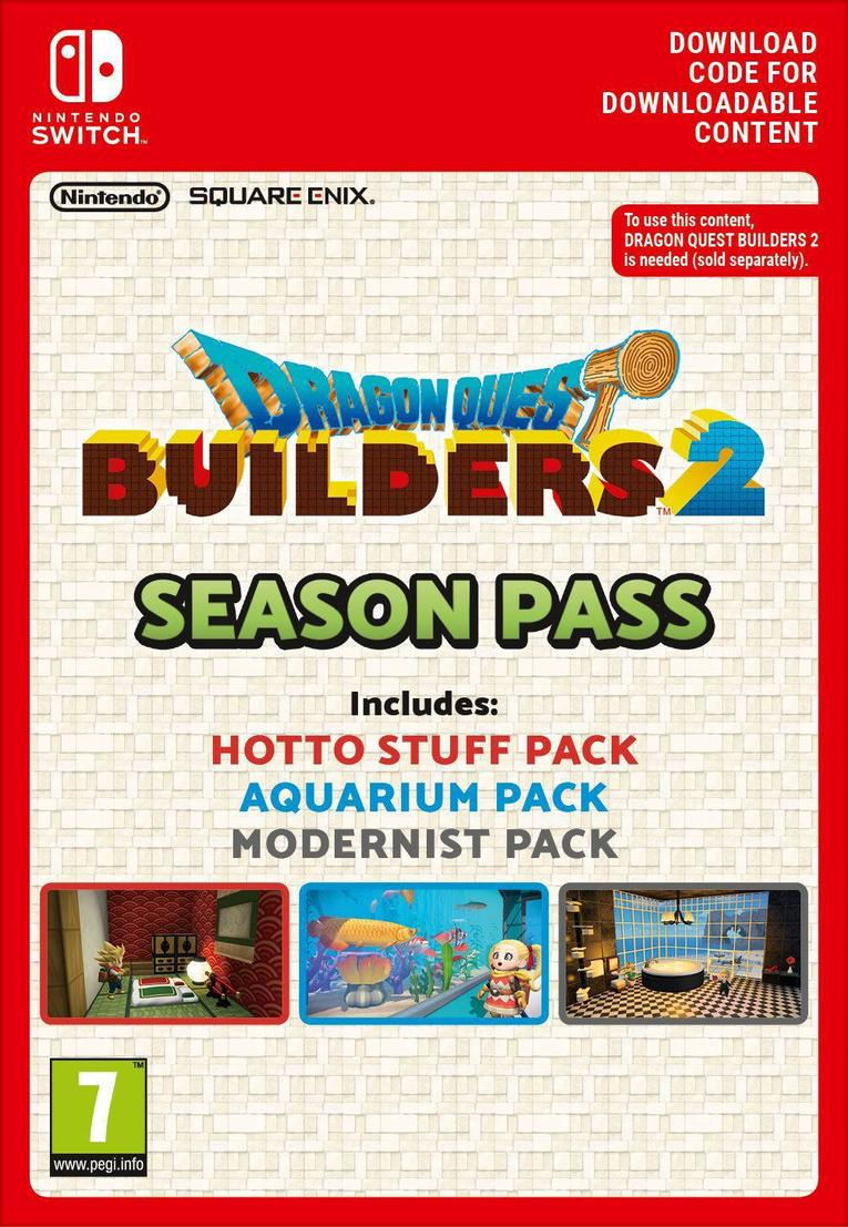 Dragon Quest Builders 2 Season Pass EU Nintendo Switch resmi
