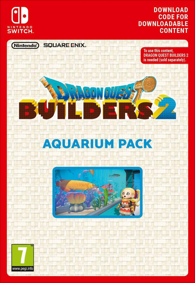 Dragon Quest Builders 2 - Aquarium Pack EU Nintendo Switch resmi