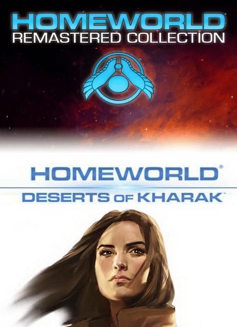 Homeworld Remastered Collection and Deserts of Kharak Bundle