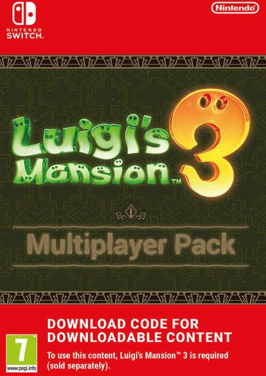 Image de Luigi's Mansion 3 Multiplayer Pack EU Nintendo Switch