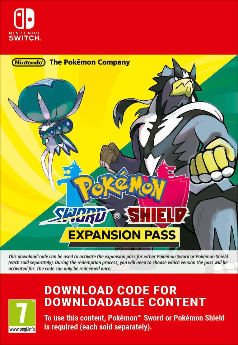 Afbeeldingen van Pokémon Sword + Pokemon Shield Expansion Pass EU Nintendo Switch