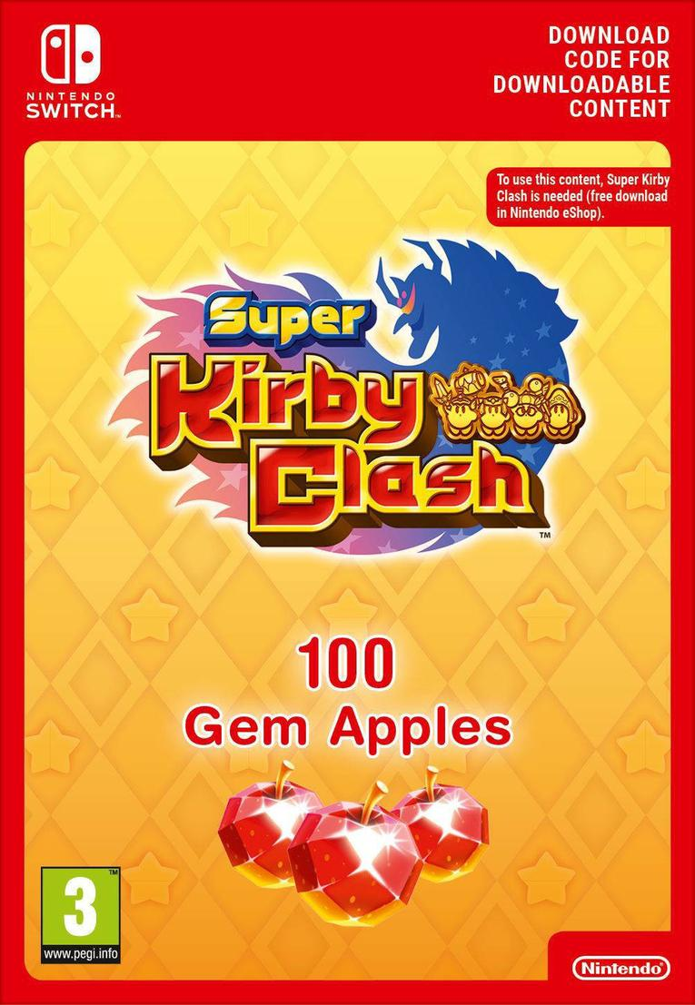 Picture of Super Kirby Clash 100 Gem Apples EU Nintendo Switch