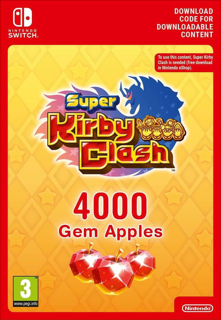 Picture of Super Kirby Clash 4000 Gem Apples EU Nintendo Switch