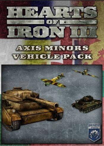 Obrazek Hearts of Iron III: Axis Minor Vehicle Pack