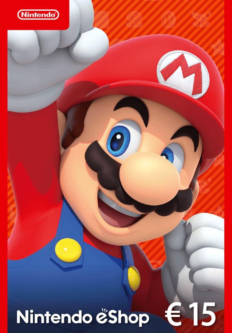 Afbeeldingen van Nintendo eShop Card 15 EUR NL