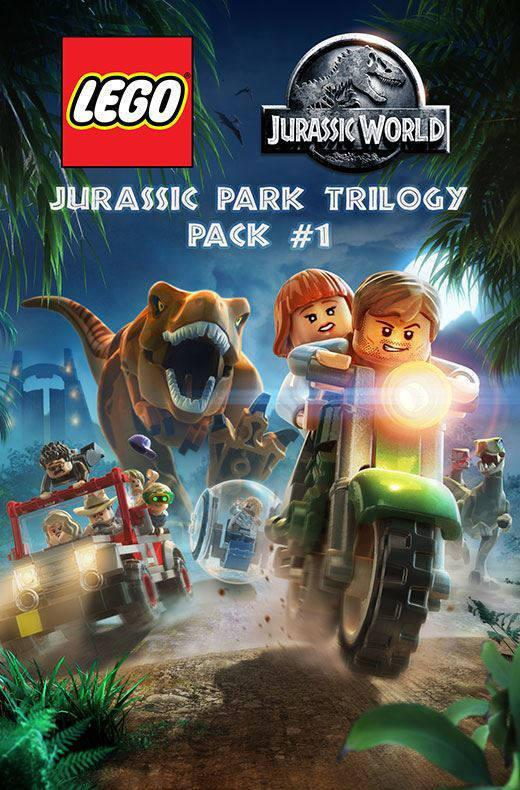 LEGO Jurassic World: Jurassic Park Trilogy DLC Pack 1