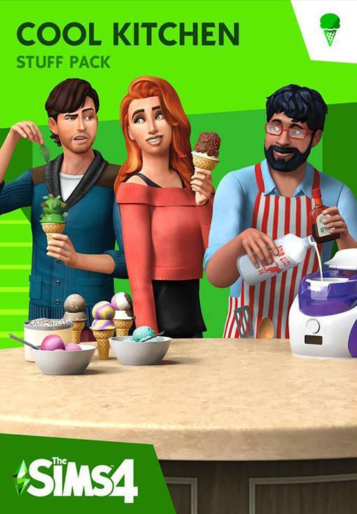 The Sims 4 Cool Kitchen Stuff Pack