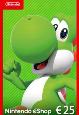 Afbeeldingen van Nintendo eShop Card 25 EUR NL