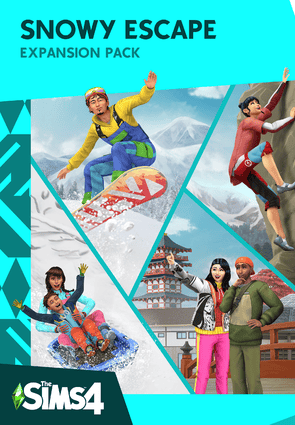 The Sims 4 Snowy Escape Expansion Pack resmi