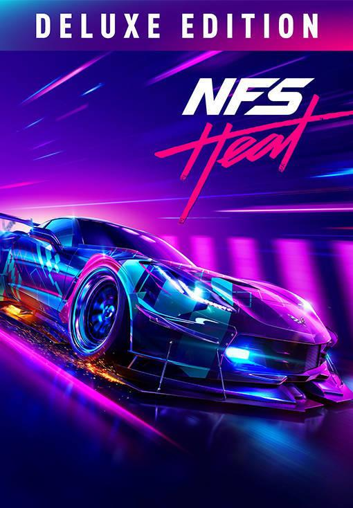 NEED FOR SPEED HEAT - DELUXE EDITION - ROW