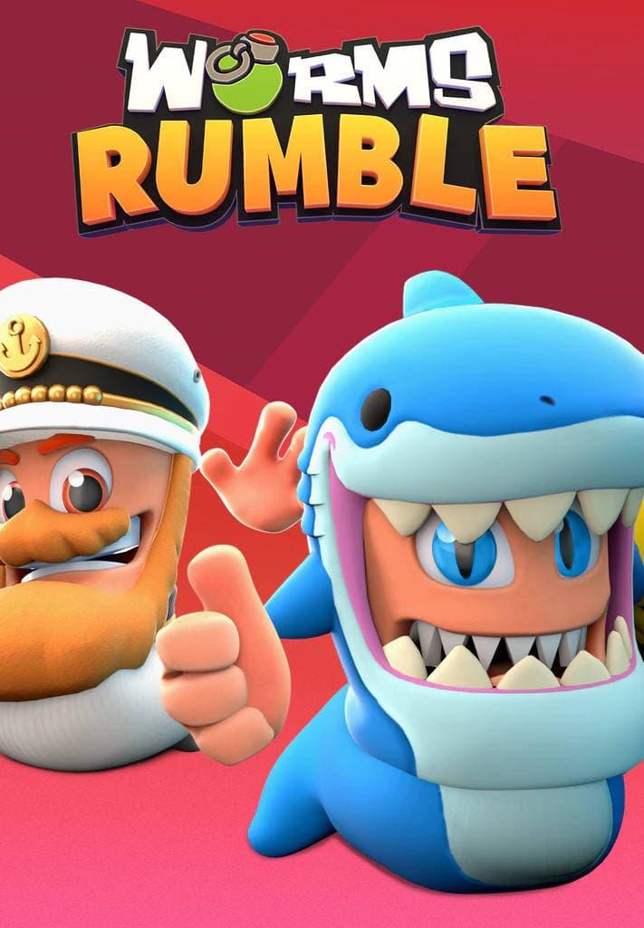 Imagem de Worms Rumble: Captain & Shark Double Pack