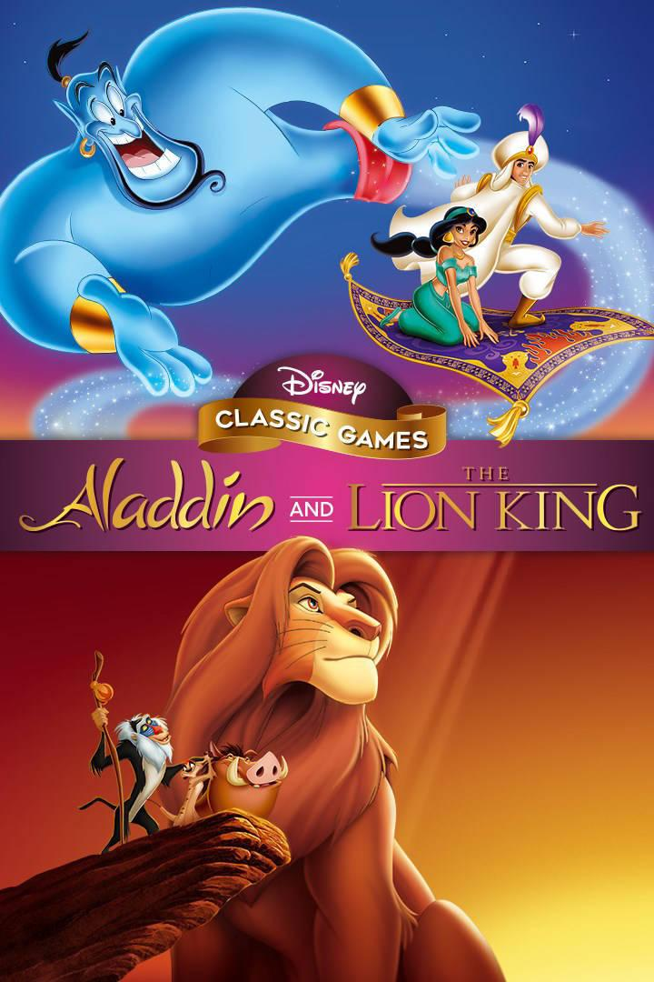 Buy Disney Classic Games Aladdin and the Lion King