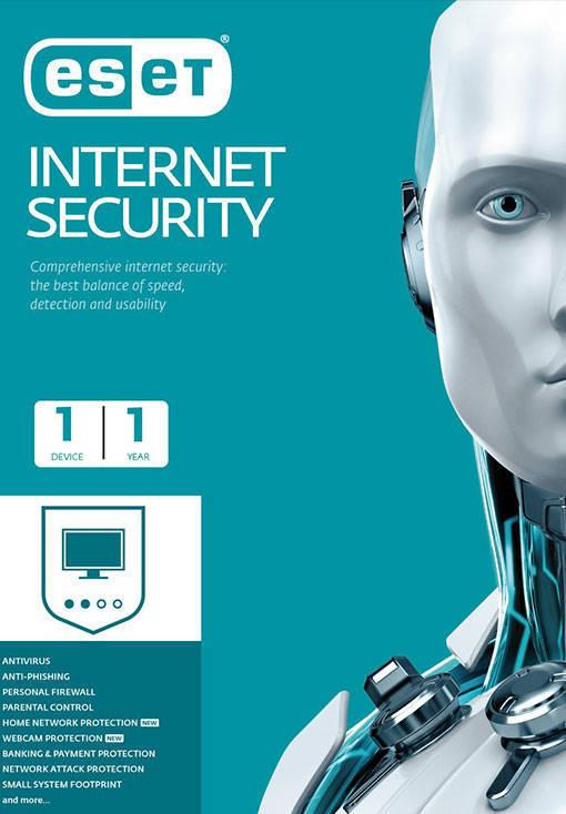 ESET Internet Security - 1 Device - 1 Year