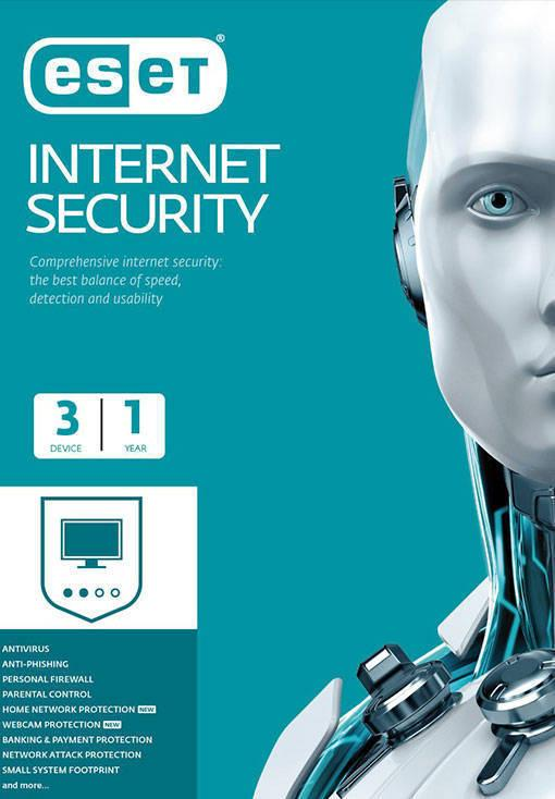 ESET Internet Security - 3 Device - 1 Year