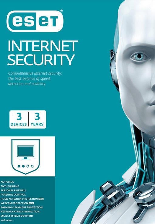 ESET Internet Security - 3 Device - 3 Year