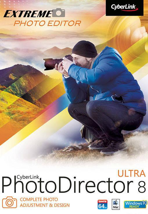 CyberLink PhotoDirector 8 Ultra (MAC)