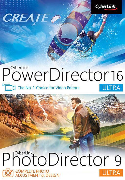 Cyberlink Power Director 16 Ultra + Photo Director 9 Ultra