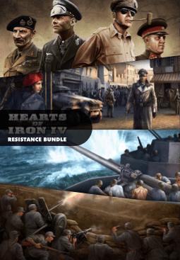 Hearts of Iron IV Resistance Bundle resmi
