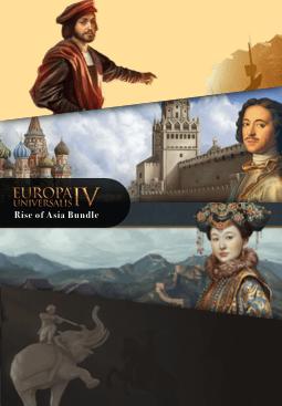 Europa Universalis IV Rise of Asia Bundle resmi