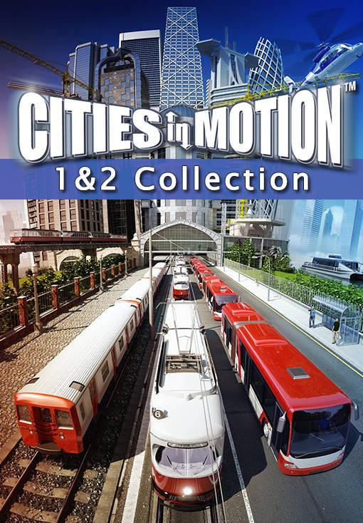 Obrazek Cities in Motion 1 and 2 Collection