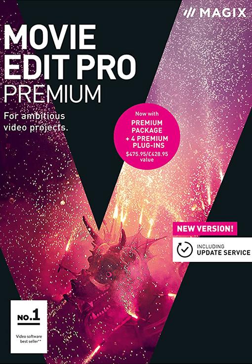 MAGIX Movie Edit Pro Premium 2018