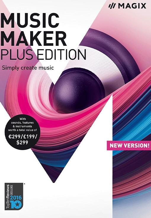 MAGIX Music Maker Plus Edition 2018